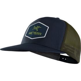 Arc'teryx Hexagonal Trucker Hat dark navy